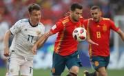 阿金费耶夫的明星是俄罗斯在点球时击败西班牙队世界杯